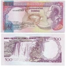 Банкнота 500 добр 1993 год. Сан-Томе и Принсипи . Pick 63. Из банковской пачки (UNC)