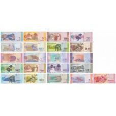 Венесуэла полный набор от 2-х до 100000 2008-2018 года 21 банкнота комплект UNC ПРЕСС
