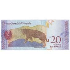 20 боливар 2018 года. Венесуэла. Из банковской пачки (UNC)