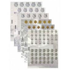 Комплект разделителей для коллекции разменных монет России с 1997 г.. Формат OPTIMA