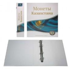 Альбом Стандарт Т формат Optima с надписью Монеты Казахстана