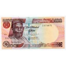 Банкнота 100 найра 2011 года. Нигерия. UNC