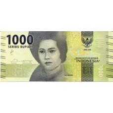 Банкнота 1000 рупий 2016 год. Индонезия (UNC)