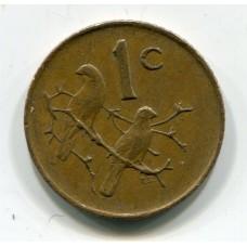 1 цент , 1985 год, Южно-Африканская Республика  (из обращения)