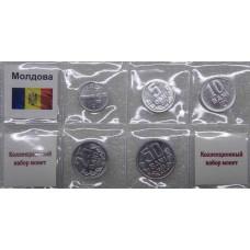 Набор монет Молдова ( 5 монет)