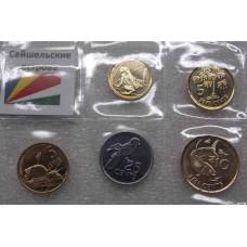 Тематический набор монет. Сейшельские острова (5 монет)