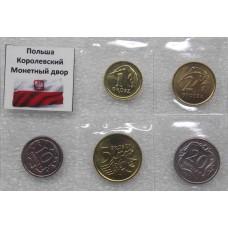 Набор монет Польша. Королевский монетный двор (5 монет)