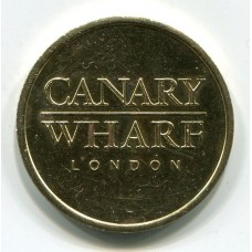 Жетон - Canary Wharf. Великобритания