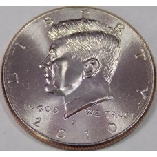 Half Dollar (50 центов) США 2010 года. Двор - P