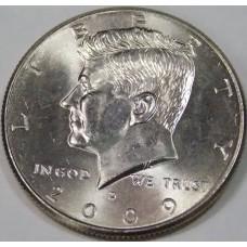 Half Dollar (50 центов) США 2009 года. Двор - D
