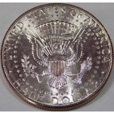 "Half Dollar (50 центов) США 2013 ""Kennedy Half Dollar (Кеннеди)"". (UNC)"