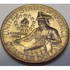 25 центов 1976 года. Серия