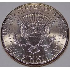 Half Dollar (50 центов) США 2014 года.