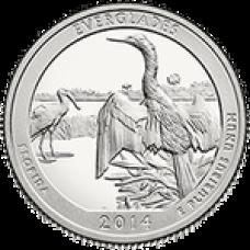 25 центов 2014 Национальный парк Эверглейдс - №25