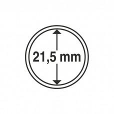 Капсула для монет внутренний диаметр 21 мм. Китай