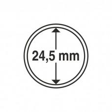 Капсула для монет внутренний диаметр 24,5 мм. Leuchtturm