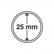 Капсула для монет внутренний диаметр 25 мм. Leuchtturm