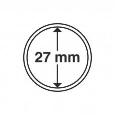 Капсула для монет внутренний диаметр 27 мм. Leuchtturm