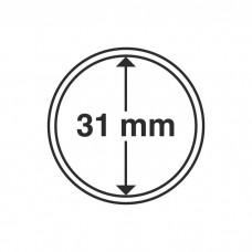 Капсула для монет внутренний диаметр 31 мм. Leuchtturm