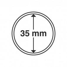 Капсула для монет внутренний диаметр 35 мм. Leuchtturm