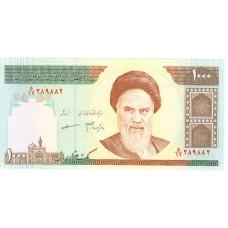 1000 риалов Иран