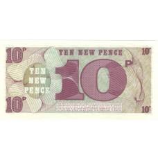 10 пенсов Великобритания