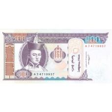 100 тугриков 2008 год. Монголия