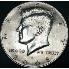Half Dollar (50 центов) США 2005 года. Двор - P