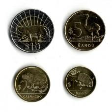 Уругвай. Набор монет (4 монеты)