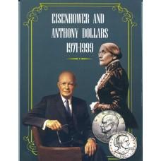 Альбом для долларов Эйзенхауэра и Сьюзен Энтони