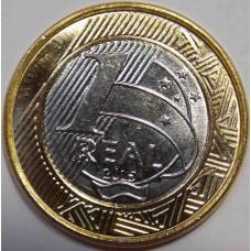 1 Реал 2015 года  ОЛИМПИАДА-2016. Набор монет (выпуск №3). Бразилия.