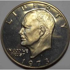 1 доллар 1973 США Эйзенхауэр
