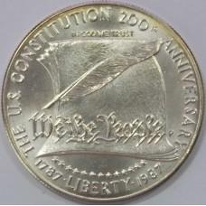 200-летие Конституции, 1 доллар США 1987 года (серебро 900)