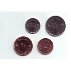 Оман. Набор монет (4 монеты)