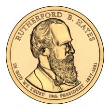 Ратерфорд Хейз. 1 доллар 2011 года. США