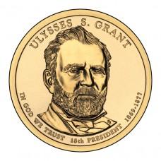 Улисс Грант. 1 доллар 2011 года. США