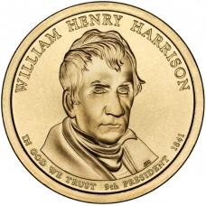 Уильям Гаррисон. 1 доллар 2009 года. США