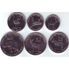 Эритрея. Набор монет (6 монет)