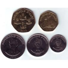 Гаити. Набор монет (5 монет)