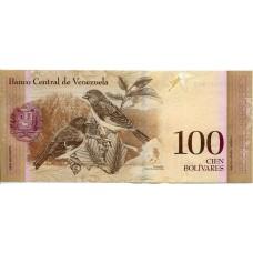 100 боливаров 2012 года. Венесуэла
