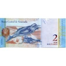 2 боливара 2012 года. Венесуэла