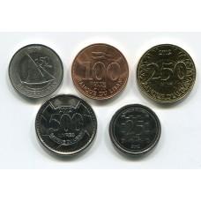 Ливан. Набор монет (5 монет)