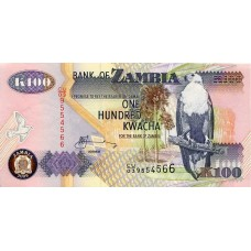 100 квача 2009 года. Замбия (KM# 38)