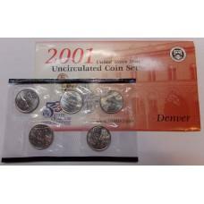 Годовой набор 25 центов серия