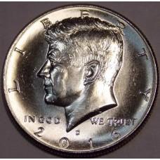 Half Dollar (50 центов) США 2016 года